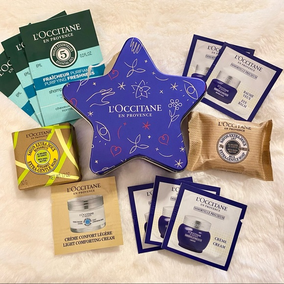 L'Occitane Collectable Tin and Sample Bundle